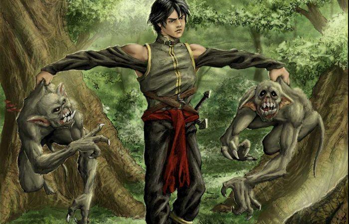 Immagine di Elamar - Illustrazione fantasy tratta da Altèra - Le Cronache dei 5 Regni - Elvio Ravasio, autore di libri fantasy
