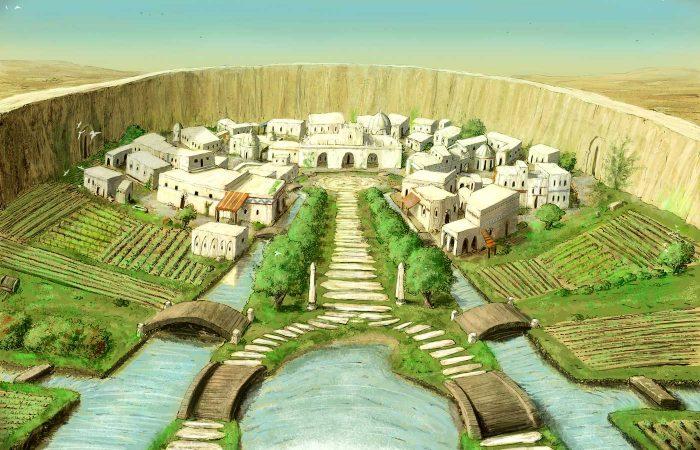 Immagine di Eleutera - Illustrazione fantasy tratta da Altèra - Le Cronache dei 5 Regni - Elvio Ravasio, autore di libri fantasy