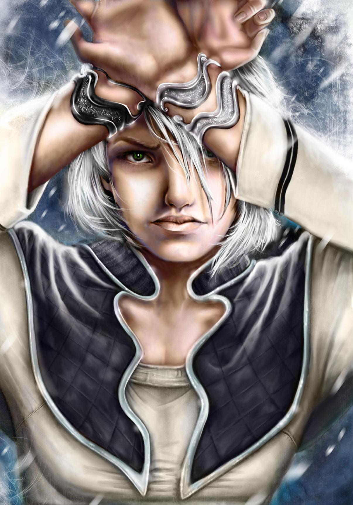 Immagine di Gotland - Illustrazione fantasy tratta da I Guerrieri d'argento - Le Cronache dei 5 Regni - Elvio Ravasio, autore di libri fantasy
