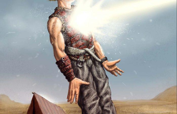 Immagine di orko - Illustrazione fantasy tratta da Altèra - Le Cronache dei 5 Regni - Elvio Ravasio, autore di libri fantasy