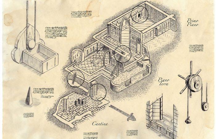 Immagine percorso - Illustrazione fantasy tratta da Kiria - Le Cronache dei 5 Regni - Elvio Ravasio, autore di libri fantasy