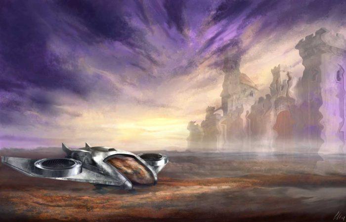 Immagine Flyer - Illustrazione fantasy - Medioevo - Elvio Ravasio, autore di libri fantasy